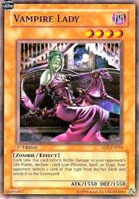 Yu-Gi-Oh! - Vampire Lady (SD2-EN010) - Structure Deck 2: Zombie Madness - Unlimited Edition - Common]()