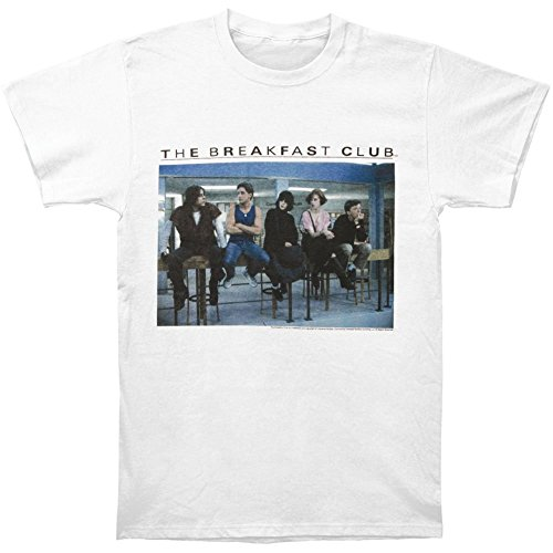 The Breakfast Club Men's Posted Up T-Shirt Medium White