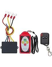 CHENGTIE Wireless Winch Remote Control Kit 12V-24V Switch for SUV Jeep Truck ATV Waterproof Winch Remote