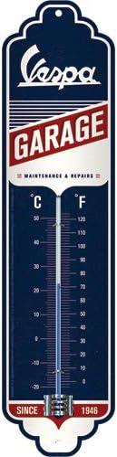 Nostalgic-Art Vespa-Garage Thermometer, 6,5x28 cm