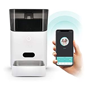 Petnet SmartFeeder (2nd gen) – Automatic Wi-Fi Pet Feeder with Personalized Portions for Cats and Dogs – App for Android… Click on image for further info.