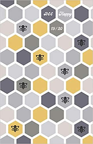 Be Happy 19/20: Modern Hexagon Cover - Planner / Diary ...