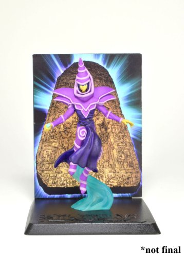 "NECAA YuGiOh Dark Magician 3 3/4"" Action Figure with Deluxe Display"