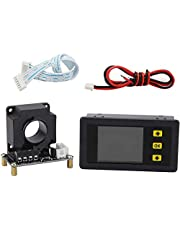 Andifany Bidirectional Volt Amp Meter, 90V 300A Voltage Current Battery Capacity Amp-Hour Watt-Hour Power Time Monitor Tester