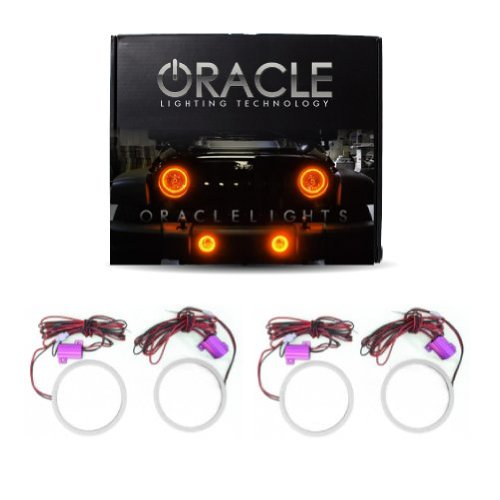 oracle-lighting-do-cl0813p-a-dodge-challenger-plasma-halo-headlight-rings-projectorhl-amber