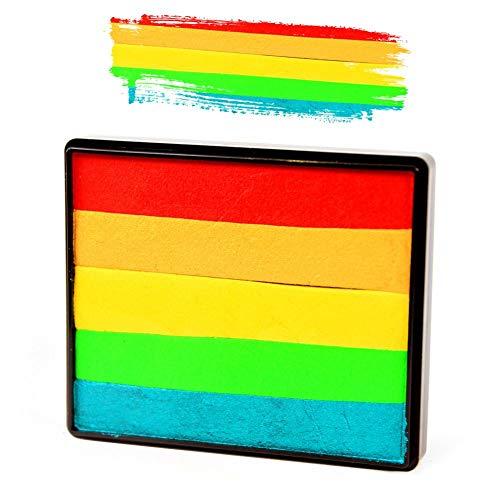 Silly Farm Rainbow Split Cake - Holly Berry ()
