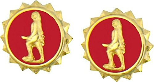 MilitaryBest Army Discharge 9/16 Lapel Pin 2 Pack