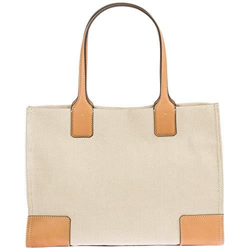 436291daba4 Jual Tory Burch Women s Ella Canvas Tote Tan Handbag Mini -