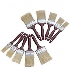 10-pack-polyester-bristle-paint-brush-value-set-w-contoured-handles-for-any-professional-paint-job-o