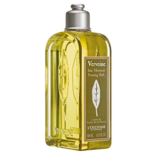 L'Occitane Foaming Verbena Bubble Bath with Organic Verbena Extract, 16.9 fl. (Best Bubble Bath Products)