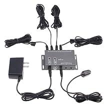 AGPtek® IR Infrared Remote Control Extender Emitter Kit - Hiddern Ir Control System For Home Theater
