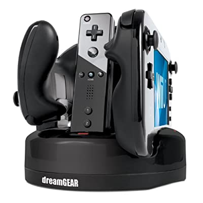 Wii U Quad Dock Revolution Charger