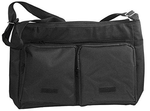 Rikki KnightTM Multicolor Wood Panel Art Background Design Messenger Bag - Shoulder Bag - School Bag for School or Work
