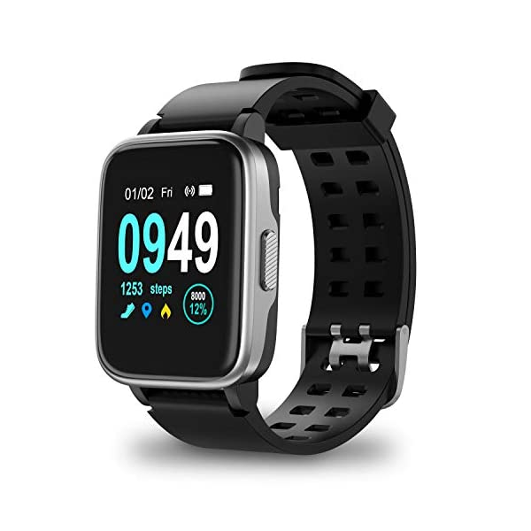 Updated 2019 Version Smart Watch for Android iOS Phone, Activity Fitness Tracker...