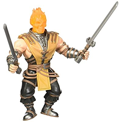 Funko 21909 Savage World: Mortal Kombat Scorpion Collectible Toy, 3.75
