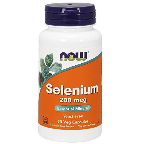 NOW Supplements, Selenium (L-Selenomethionine) 200 mcg, Essential Mineral*, 90 Veg Capsules