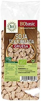 SOLNATURAL Soja Texturizada Gruesa Bio 175 g, Estándar, Único ...
