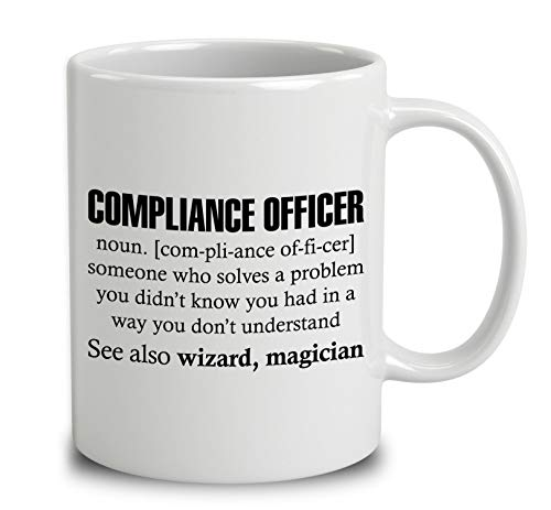 Compliance Officer Someone Who Solves A Problem Coffee Mug (White, 11 ()