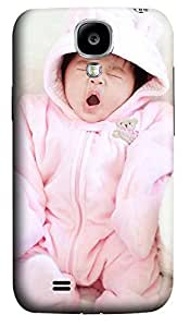 Samsung S4 Case Baby Yawning 3D Custom Samsung S4 Case Cover