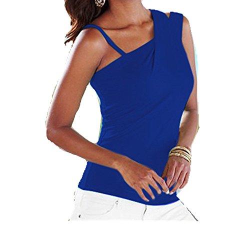 Clearance! E-Papaya New Fashion Women Oblique shoulders Harness - Papaya Clothing
