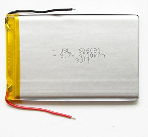 (Ofeely 3.7v 4000mah 606090 Polymer Li-po Battery Rechargeable Battery for DIY MID PAD Tablet Pc)