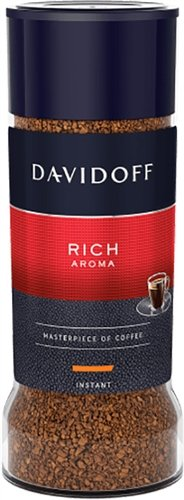 Davidoff Cafe Rich Aroma Instant Coffee, 100 gram Jars (Pack of 6) ()