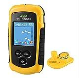 Lucky Fish Finder Portable Wireless Fishing Sonar for Shore Fishing Kayak Fishing