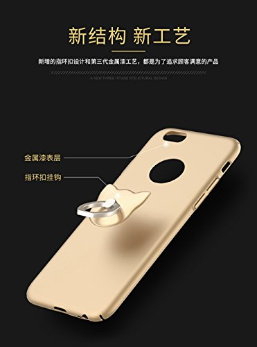 Coque iPhone 7,Coque iPhone 7 Plus,Coque iPhone 6/6S,[Silky]-skin feel,Smooth and supple.[Sand]-Gravel touch.Non-slip.Dur PC Matière avec [Ultra Mince] [Ultra Léger]Anti-dérapante Coque(SJLC3-5)