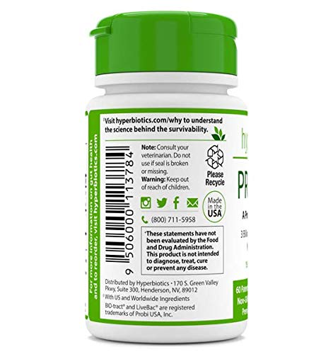 PRO-Pets Probiotics for Dogs and Cats: Time Release Probiotic for Your Companion's Health (dog or cat) – Very Easy to Swallow – 6 Strains – 15x More Effective than Others – Top Supplement for Pets