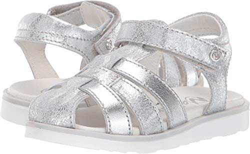 Naturino Baby Girl's Ziggy SS19 (Toddler/Little Kid) Silver 30 M EU