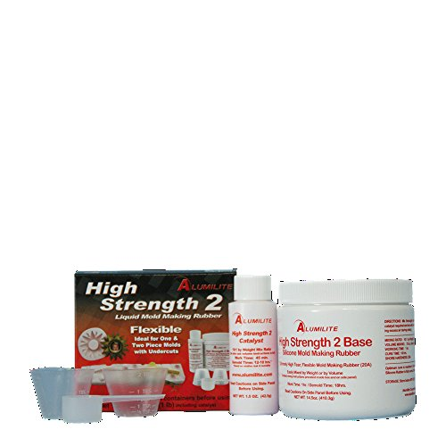 Alumilite High Strength 2 Mold Making Rubber (Purpose Silicone Rubber All)