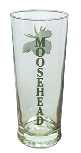 Moosehead Beer 20oz Signature Tumbler Glass Rare Imported (Beer Rare)