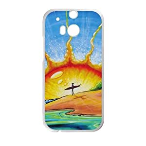 Sunrise HTC One M8 Cell Phone Case White DIY GIFT pp001_8043882