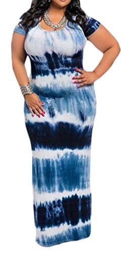 ジレンマ航空会社合併OULIU-Women DRESS レディース カラー: ブルー