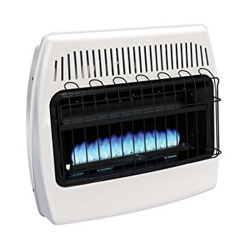 Amazon Com Heathrite Vent Free Blue Flame Heater Natural