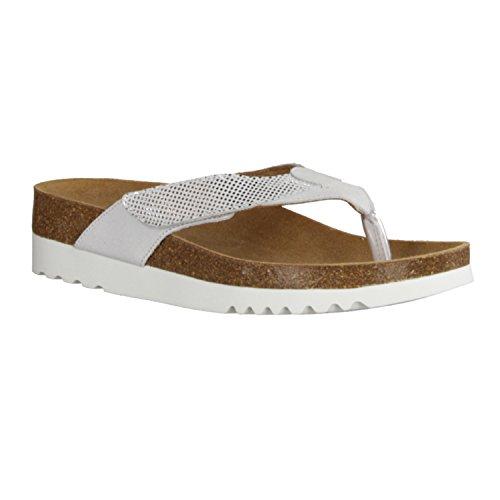 Scholl Alaxias Damen Sandalen Weiß