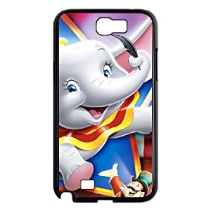 Samsung Galaxy Note 2 7100 Black Cell Phone Case Dumbo KVCZLW1719 Generic Phone Case Covers