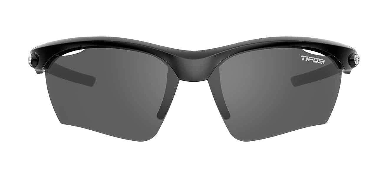 4a4f28442c Amazon.com  Tifosi Vero Gloss Black Sunglasses - Smoke AC Red trade  Clear   Sports   Outdoors