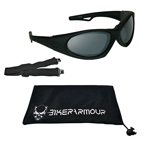Motorcycle Sunglasses Goggles Interchangeable Temple Wide Extra Large Fit - Sunglasses Temples Interchangeables