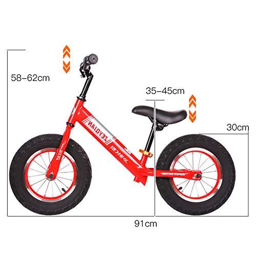 1-1 Bicicletas de Equilibrio para niños, Entrenamiento Correr Caminar Bicicleta Ligero Ruedas de EVA a Prueba de pinchazos,Black: Amazon.es: Deportes y aire ...
