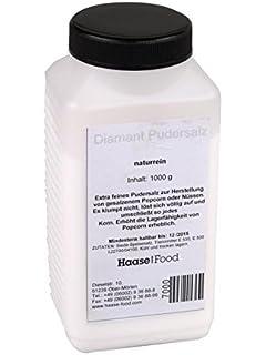Sal de palomitas de maíz Sal de diamante en polvo Sal premium 1 Kg Oferta superior