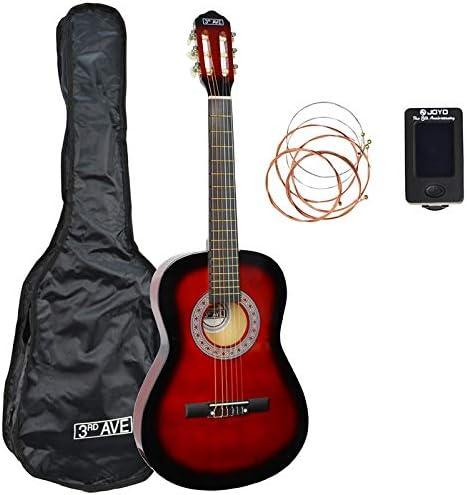 3rd Avenue STX20CRBPK Paquete de guitarra clásica de tamaño 3/4 ...