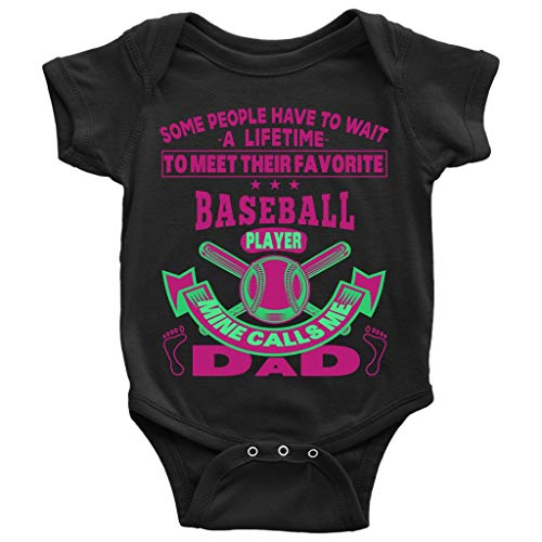 Baseball Player Baby Bodysuit, I Am A Baseball