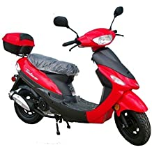 Taotao 50cc Gas Street Legal Scooter ATM50-A1 Scooter Red