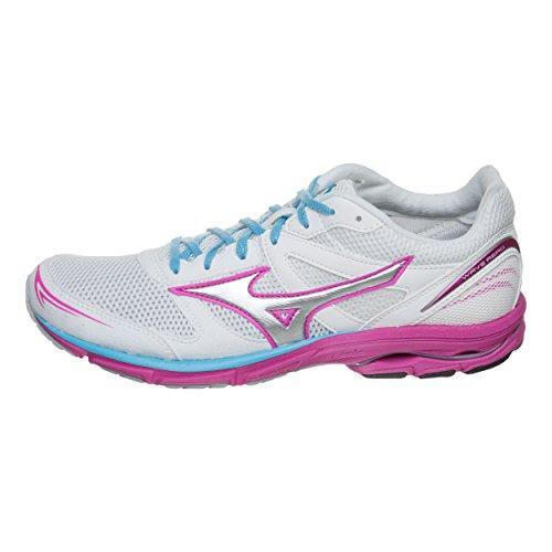 Women's Aero Pink Mizuno Da Wave 15 Corsa Scarpe qT4wH5t4