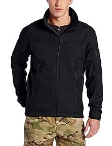 TRU-SPEC Men's 24-7 Tactical Softshell Jacket, Black, X-Small