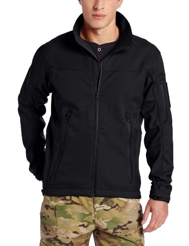 Tru-Spec Men's 24-7 Tactical Softshell Jacket, Black, X-Large ()