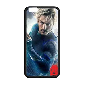 the Case Shop- Avengers 2 Avengers2 Age of Ultron Super Hero Quicksilver TPU Rubber Hard Back Case Silicone Cover Skin for iphone 6 4.7 , iiphone 6 4.7pxq-59iphone 6 4.7