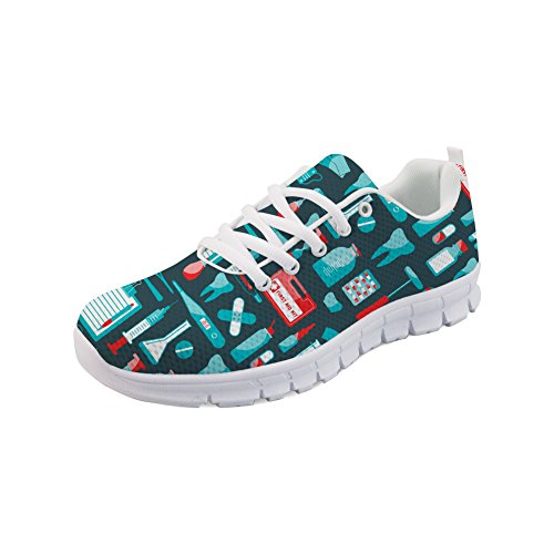 H854AQ1 Donna Dentist 3 Casual Coloranimal Pattern ColoranimalK pAvUqUwP