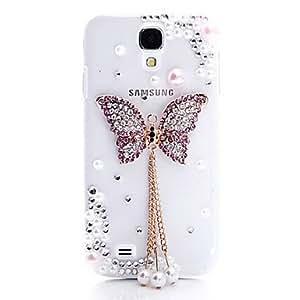 ZXM-Purple Butterfly Boundary nuevo caso para Samsung i9500 Galaxy S4